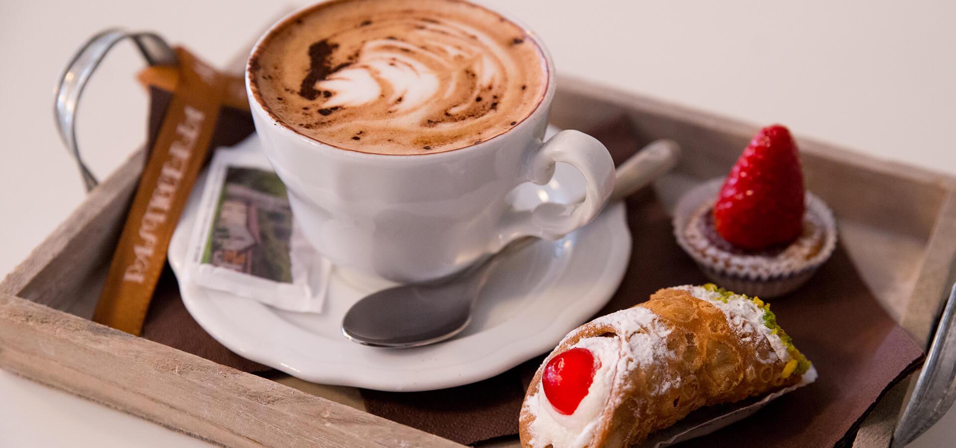 Caffetteria cappuccino e dolci - Pasticceria Acquario