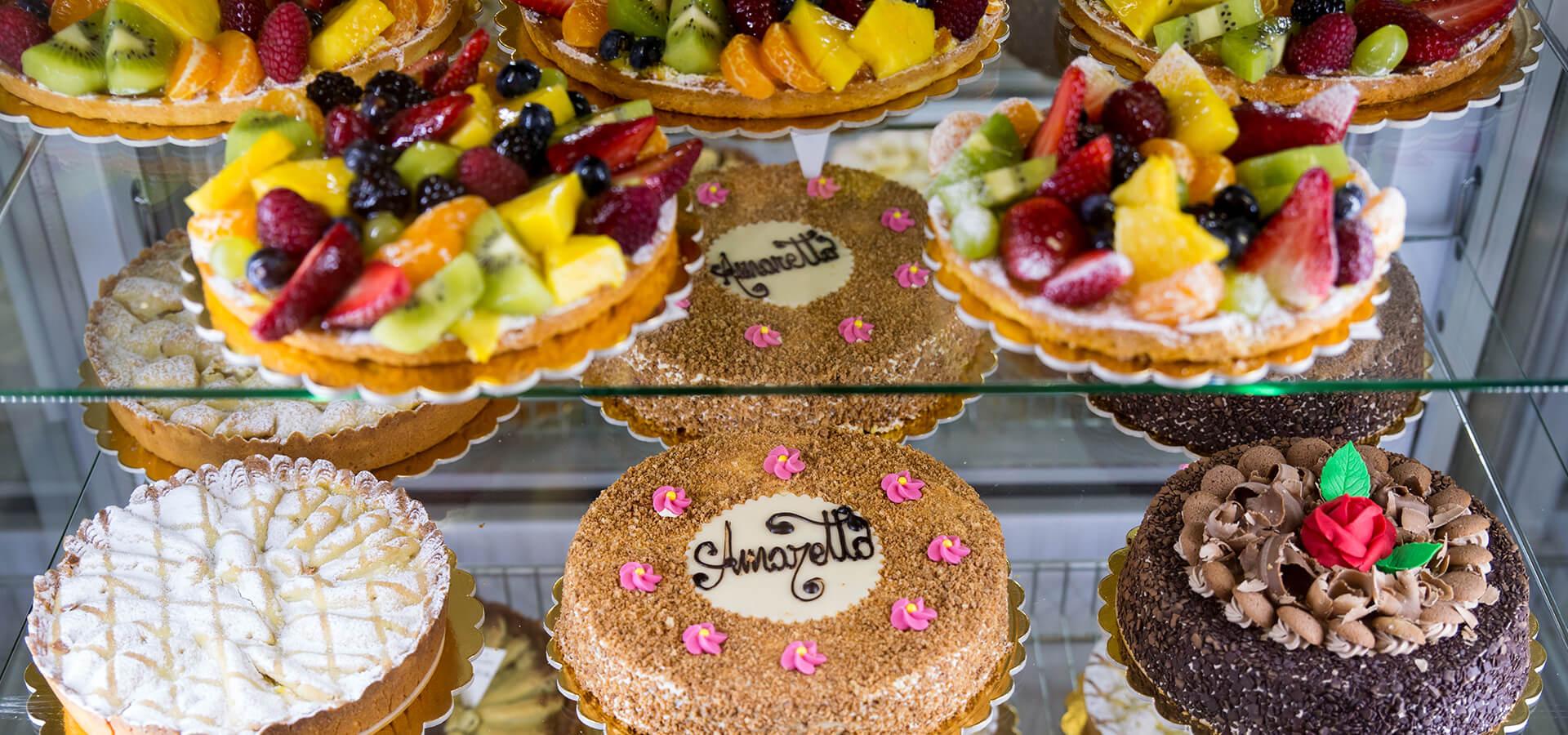 Torte varie - Pasticceria Acquario
