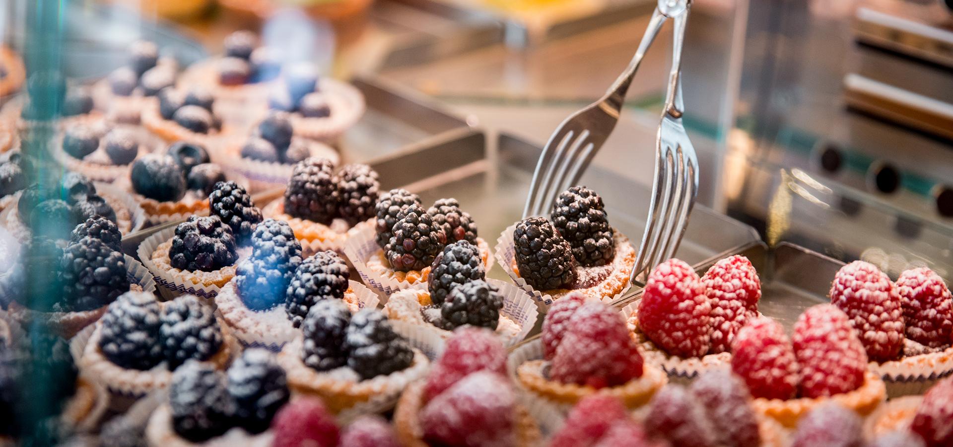 Pasticcini alla frutta - Pasticceria Acquario
