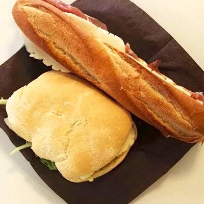 Salati panini - Pasticceria Acquario