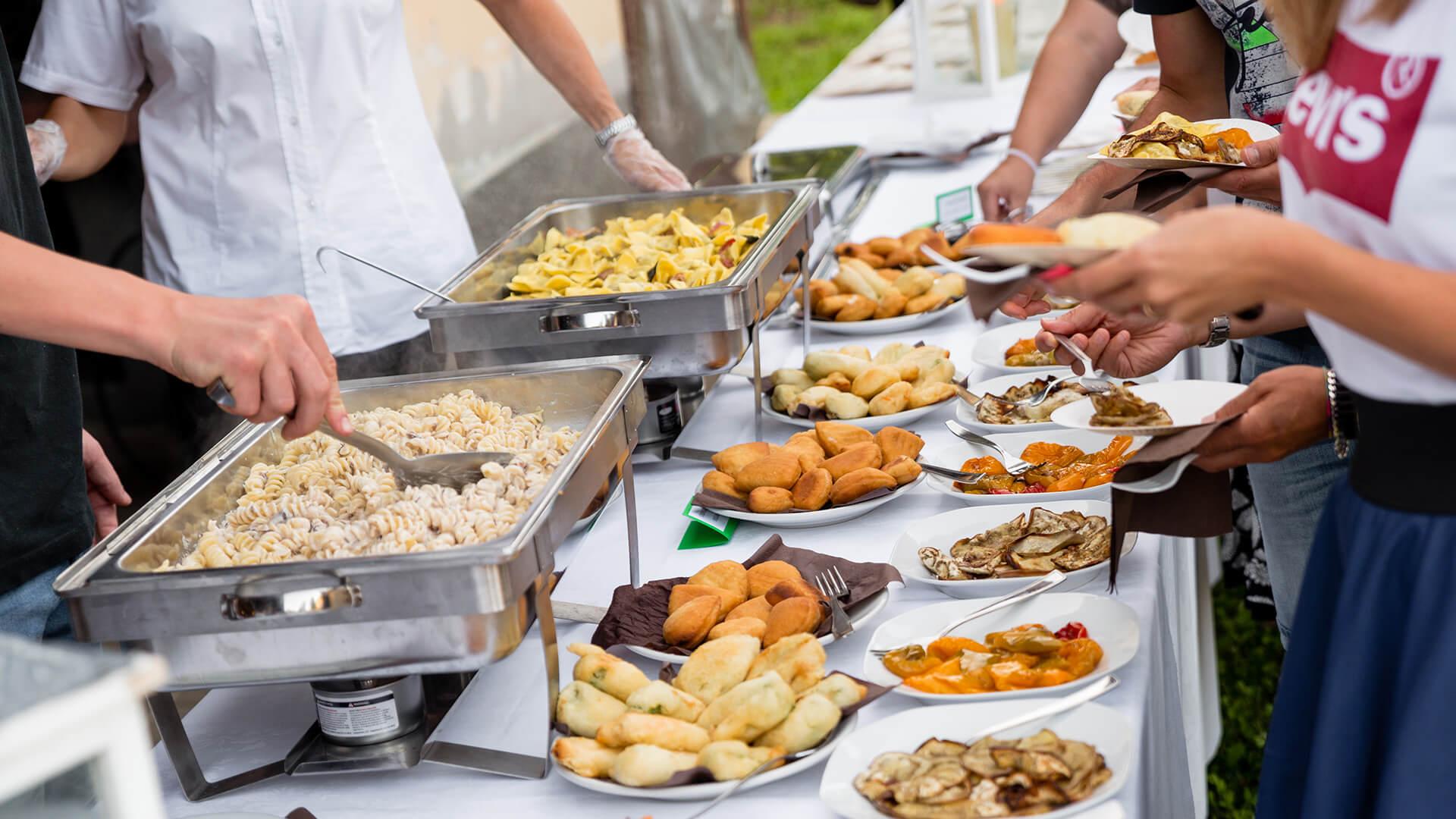 Servizio catering bergamo - buffet 1