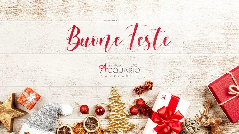 Pasticceria Acquario - aperture e chiusure Natale 2019
