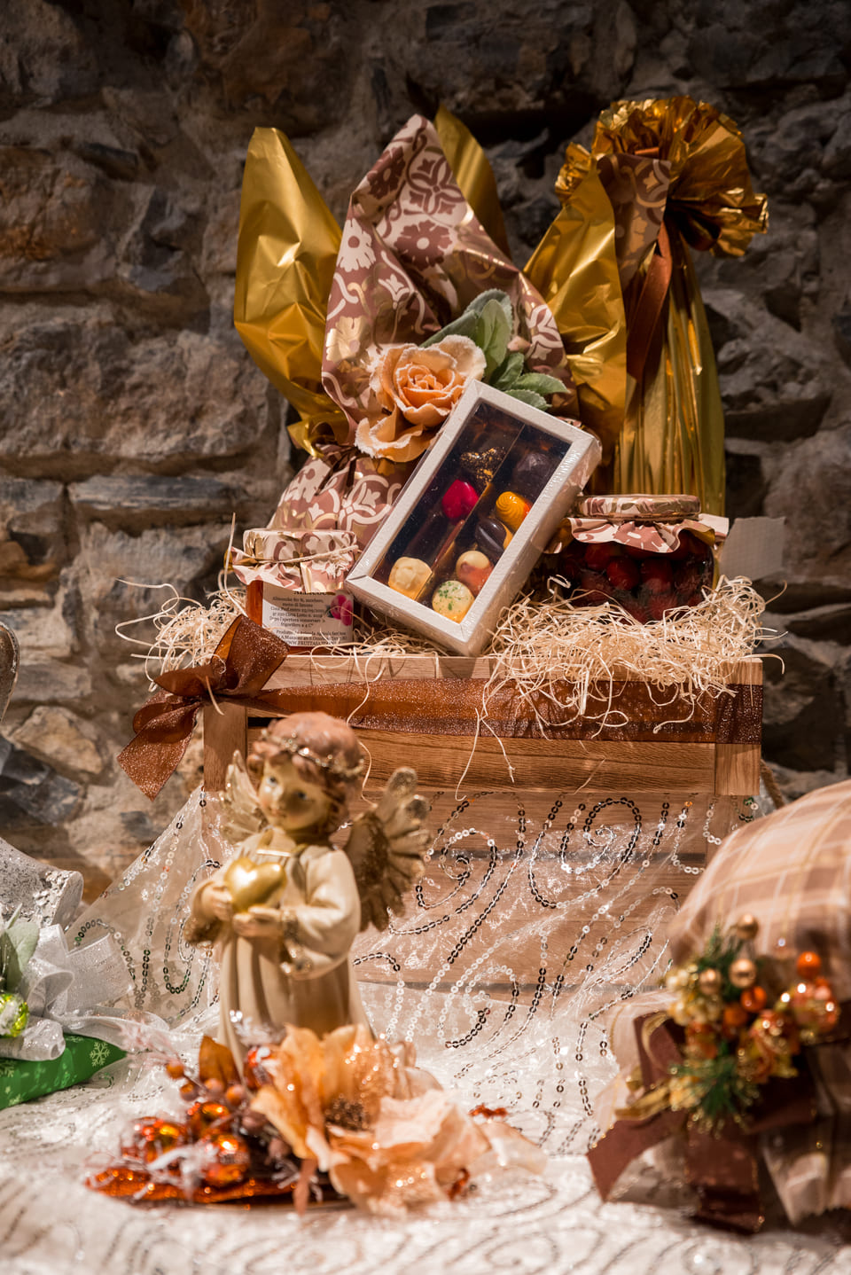 Dolci per festività - cesti natalizi a Bergamo - angelo
