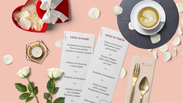 Cena di San Valentino 2020 - Pasticceria Acquario