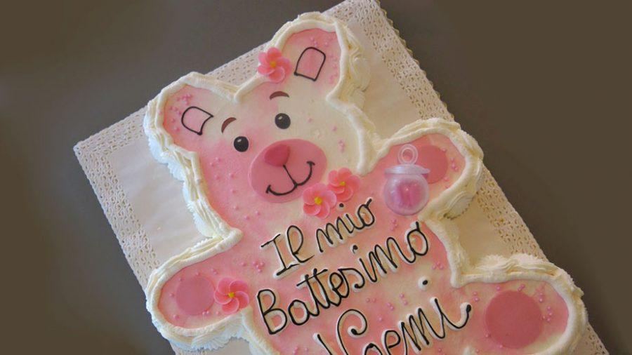Torte per battesimo idee con panna e pasta di zucchero for Idee particolari