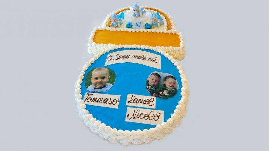 Torte per battesimo forme particolari - ciuccio - idee torte per battesimo