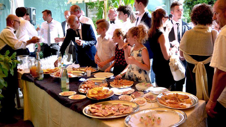 Servizio catering bergamo - matrimonio 1