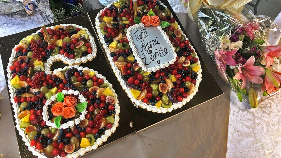 Torta compleanno adulti bergamo - 60 anni