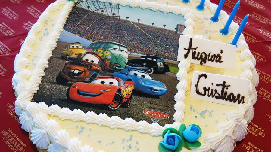 Torte di compleanno personaggi Disney - cars