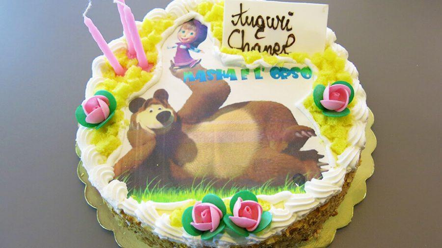 Torte di compleanno Masha e Orso