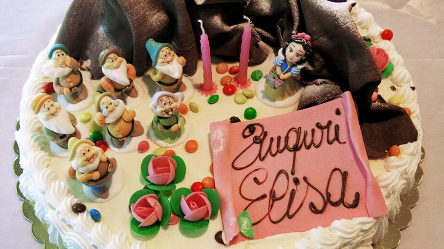 Torte di compleanno personaggi Disney - Biancaneve