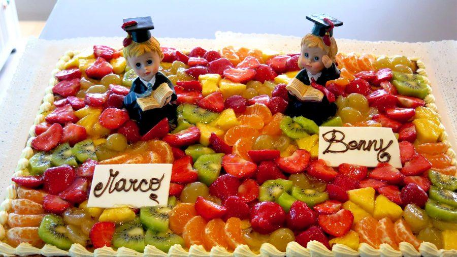 Torte di laurea alla frutta - Bergamo